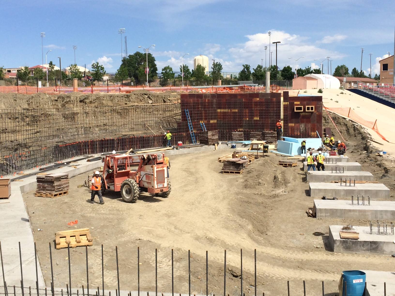 Pack Strength and Conditioning construction photos