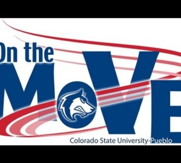 CSU-Pueblo On the Move Campaign logo