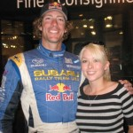 Travis Pastrana with CSU-Pueblo student Rebekah Runnells