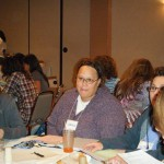 LaNeeca Williams from the Diversity Center served as a coach during the conference.