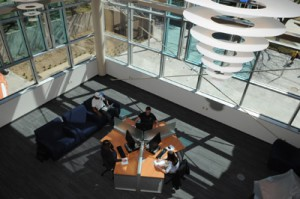 The library has . | Photo courtesy of the csupueblo.edu
