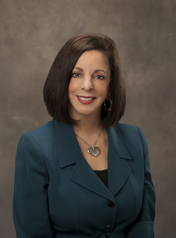 Join President Lesley Di Mare at 12:00 p.m. for pizza and questions. Photo courtesy of colostate-pueblo.edu