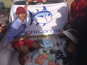 Senior Anthony Herrera is a student ambassador for Southern Tide Clothing.