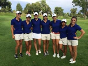 The CSU-Pueblo Women's Golf Team