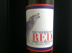 ThunderWolf Red, available at 80/Twenty Wines