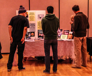 Students attend CSU-Pueblo's third annual spirituality fair. Photo by Daniel Potter.