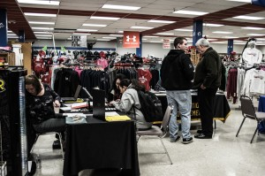 The Grad Fair in the CSU-Pueblo Bookstore Photo by Jessica Warren