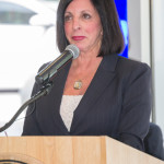 President Lesley Di Mare. (Photo by: Dustin Cox)