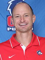 Head women's soccer coach Paul Regrutto. Photo courtesy of gothunderwolves.com.