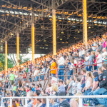 Fans on opening night of the PRCA RAM Rodeo. Photo by Dustin Cox.