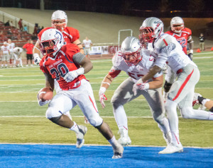 The ThunderWolves beat Western State Colorado University at home last week. Photo by Dustin Cox.