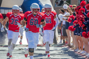 The Pack beat Western New Mexico University Sept. 26. Photo by Dustin Cox.