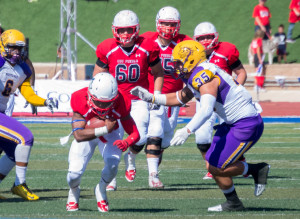 The Pack beat Western New Mexico . Photo by Dustin Cox.