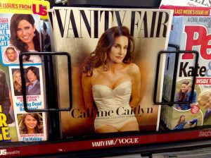 Caitlyn Jenner was featured on the cover of Vanity Fair in August. Photo courtesy of Mike Mozart