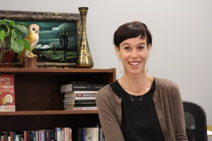 The department of sociology at CSU-Pueblo hired Colleen Hackett this year. Photo by Lilly Smith.