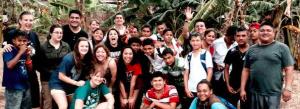 Students went on a spring break trip to Nicaragua last year. | Photo courtesy of csupueblo.edu