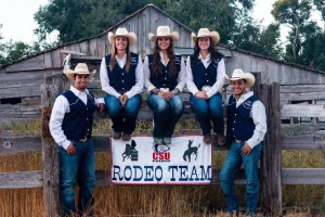 Members of CSU-Pueblo's Rodeo team | Photo courtesy of the Rodeo Team's Facebook page
