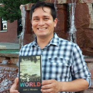 "Juan Morales' his poetry book ""Siren World"" came out 