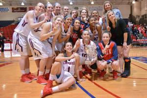 The CSU-Pueblo women's basketball team had a historic season. | Photo by Jason Prescott