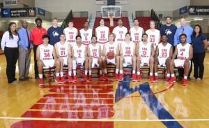 The 2015-16 men's basketball team   Photo courtesy of gothunderwolves.com