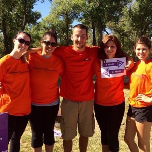 CSU-Pueblo SCAN members at a Walk for Alzheimer's event | Photo courtesy of Lance Cox