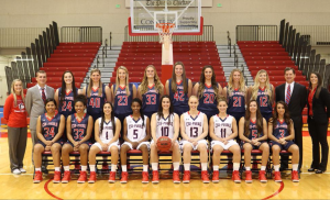 The CSU-Pueblo women's basketball team | Photo courtesy of gothunderwolves.com