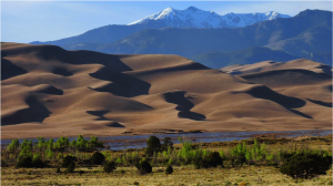 Great Sand Dunes National Park ~ image courtesy of colorado.com