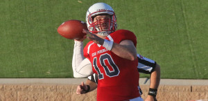 CSU-Pueblo ThunderWovles  quarterback Rex Dausin ~ photo courtesy of gothunderwolves.com