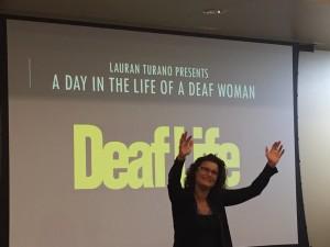 Deaf Awareness event ~ photo courtesy of Samantha Baker