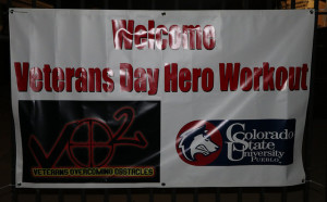 The VO2 hero workout was oganized by PLP in honor of the late US Army Ssg Matthew Whalen. ~ Photo by: Adrienne Burthe